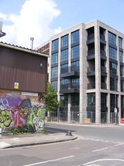 Hepscott Road flats, E92