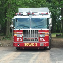 FDNY Squad 8 Hazardous Materials Technician Unit