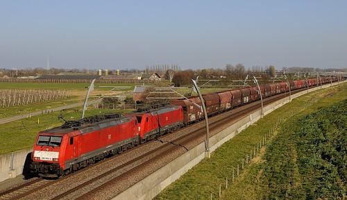Ochten, DB 189 066-4 + 189 070-6