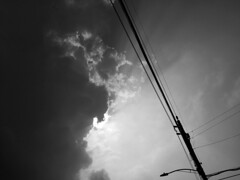 A dark afternoon