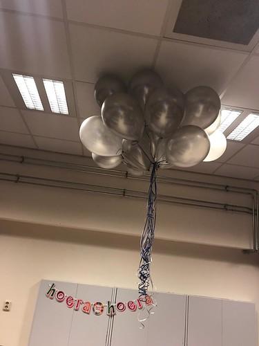 Heliumballonnen Zilver De Gaffelaar Zwartewaal