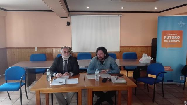 Charla del Lugarteniente sobre el Informe de Teruel en Cantavieja