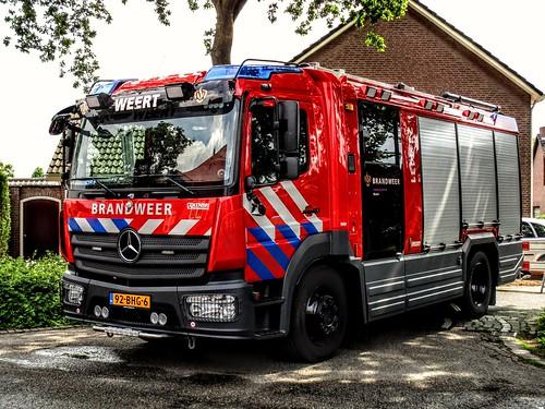 Brandweer | Limburg-Noord | Kazerne Weert | 23-4431