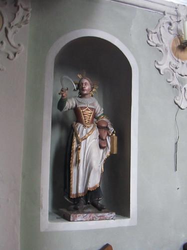 20110914 29 018 Jakobus Karres Kirche Norburga Statue