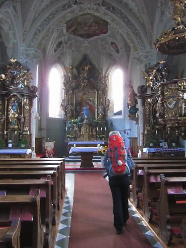 20110914 29 016 Jakobus Karres Kirche Altar Pilger