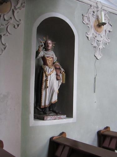 20110914 29 014 Jakobus Karres Kirche Notburga Statue