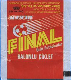 Final 86 – liners and wrappers from the 90s