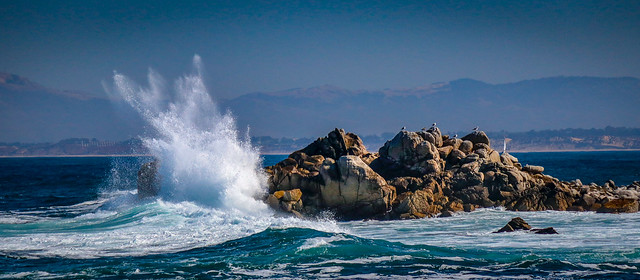 Photo:Splash on the Rocks By CDay DaytimeStudios w /1 Million views