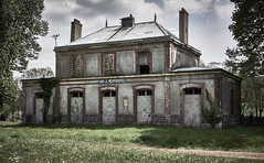 Gare de Mortain - Le Neufbourg - Photo of Brouains