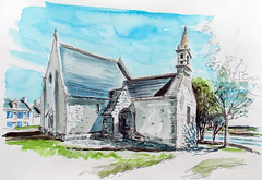 St Cado, chapelle - Photo of Merlevenez