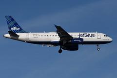 jetBlue Airways - Airbus A320-232 - N519JB - It Had To Be Blue - John F. Kennedy International Airport (JFK) - February 19, 2019 203 RT CRP