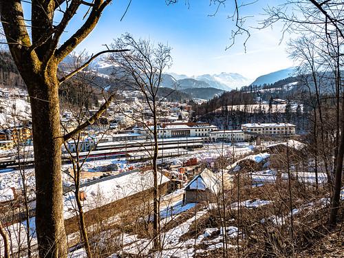 Tagestrip nach Berchtesgaden: Der Hauptbahnhof