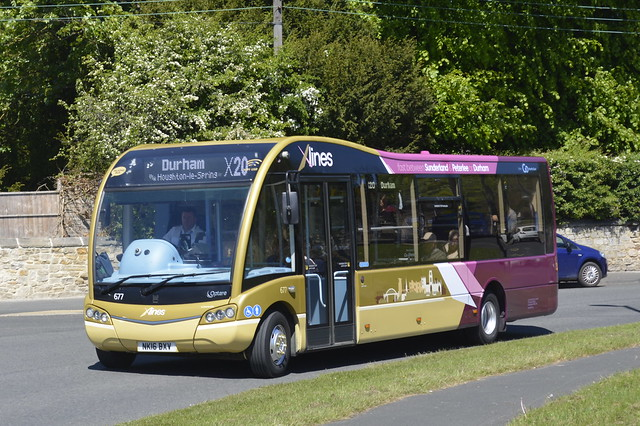 0677 NK16 BXV Go North East