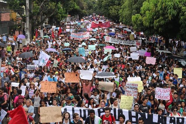Professores, trabalhadores e estudantes se mobilizam em Belém, capital do Pará / Foto: FBP/PA/Brasil de Fato