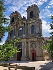 Die Kathedrale Saint-Mammès de Langres, Frankreich