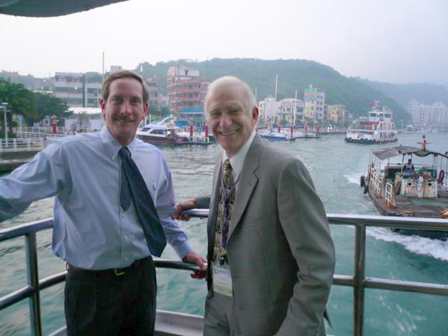 Paul Olin and Russ Moll