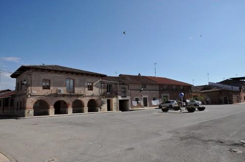 Casas de Uceda (Guadalajara-España). Plaza