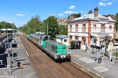 BB(4)69484 - ME100 - Train n°812316 Gisors > Achères-Triage - Photo of Cormeilles-en-Vexin