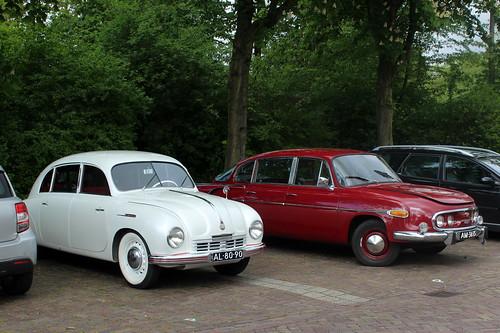 1948 Tatraplan T600 and 1971 Tatra 603