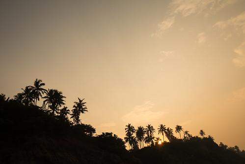 Beautiful Coastline of Kerala