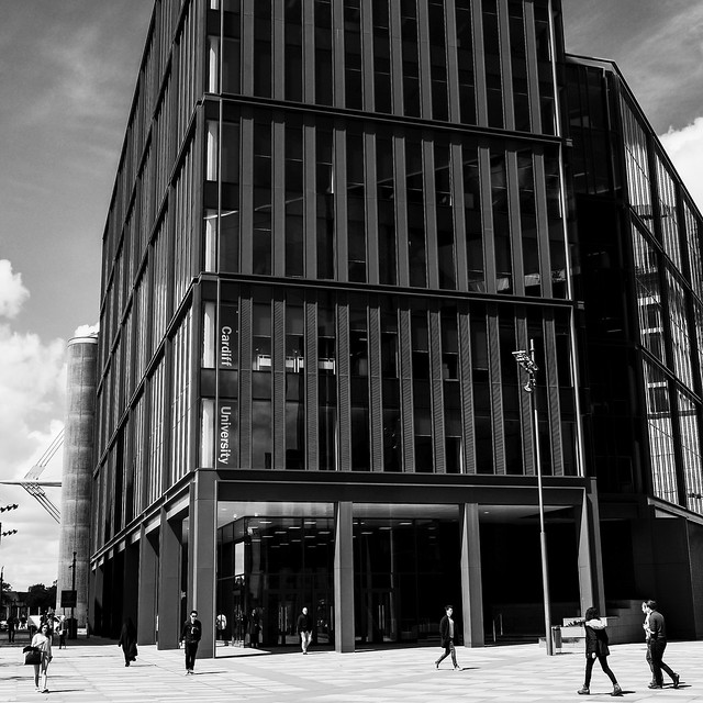 cardiff university building