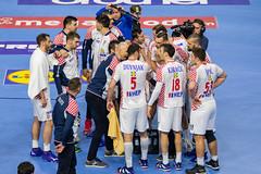 Time out Team Croatia Handball World Championship 2019 IHF