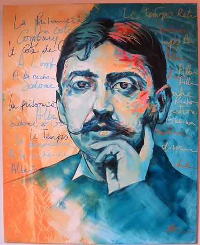 Portrait de Marcel Proust, Lio - Maison de Tante Léonie, Illiers-Combray (28) [Explore du 18 mai 2019]