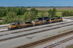 UP 8390 | EMD SD70ACe | UP Marion Intermodal Railport