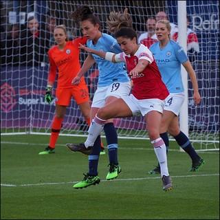 Arsenal Women v Manchester City Women May 2019