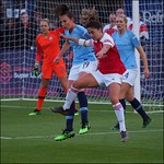 Arsenal Women v Manchester City Women May 2019