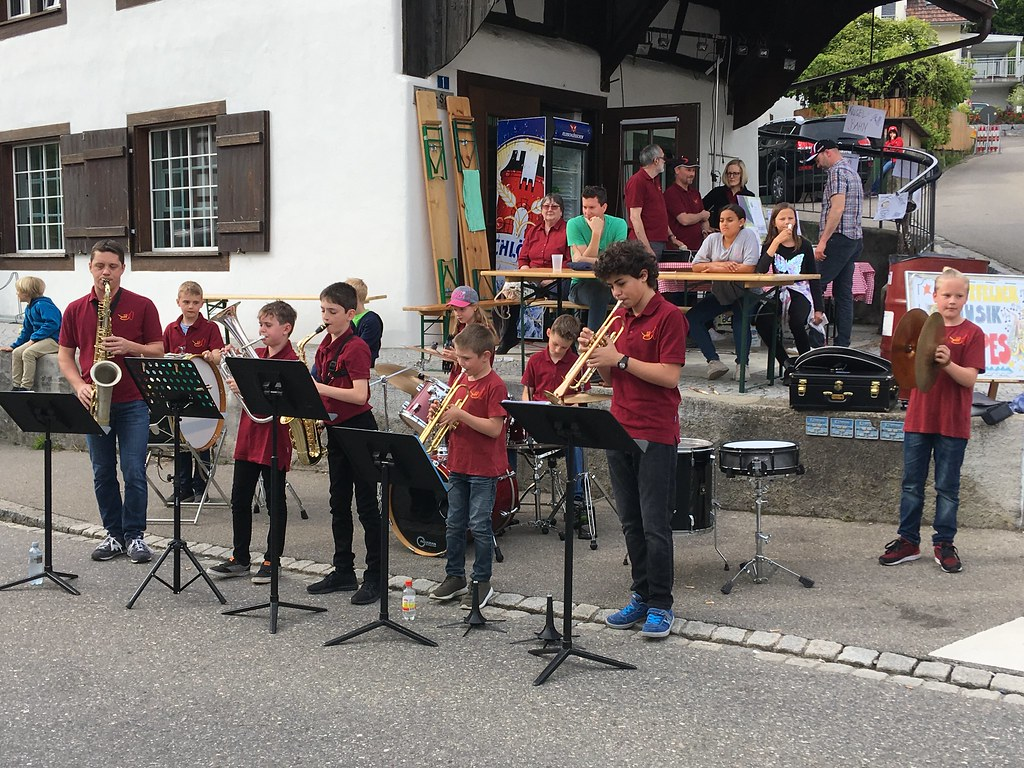 Dorffest Glattfelden, Junior Rock Band, 18.5.2019