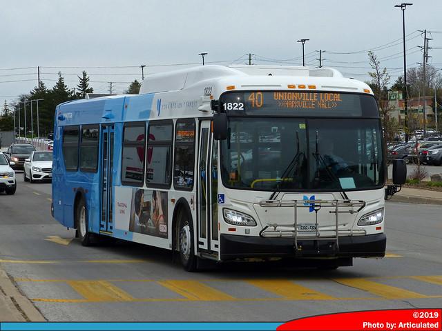 York Region Transit 1822