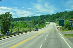 Route 138 au Québec en direction Nord-Est
