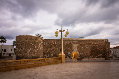 Spain - Almeria - Carboneras - St. Andrew's Castle
