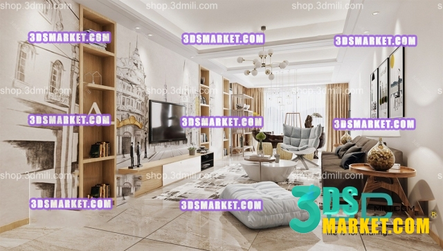 The Collection of Scandinavian Living Room HOT 2019 Part 3