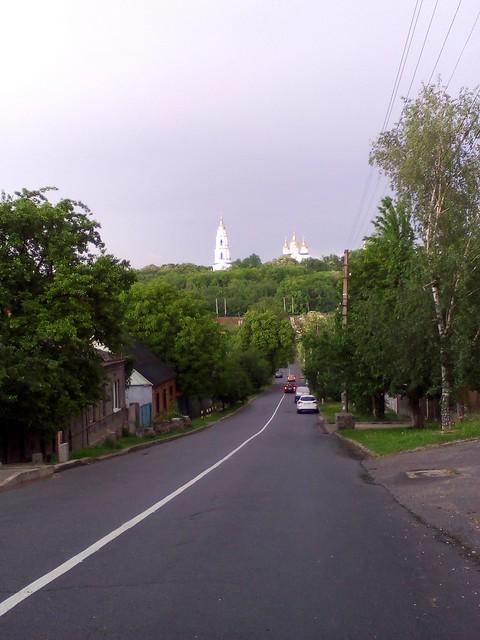 Полтава, Лысенко 14, дом почасово, вид с центра