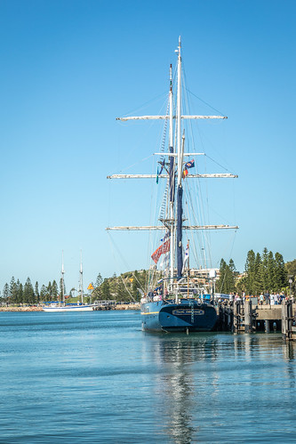 Young Endeavour, Sail Training Ship, Newcastle, New South Wales