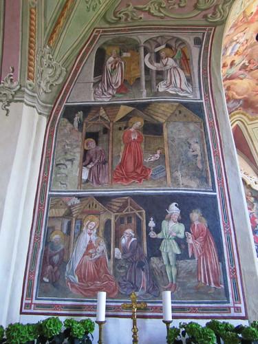 20110910 25 378 Jakobus Terfens Kirche Weihnachten Verkündigung Maria Bild