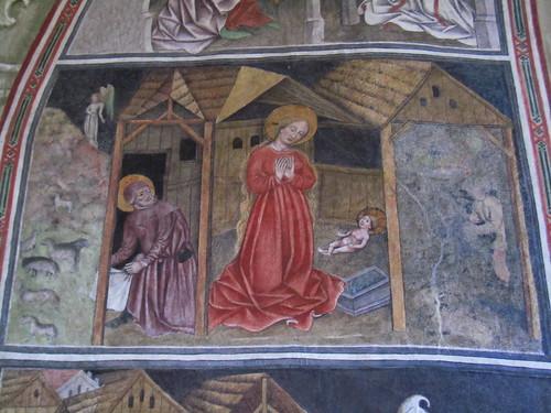 20110910 25 373 Jakobus Terfens Kirche Weihnachten Verkündigung Maria Bild