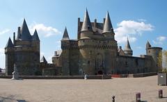 Panorámica del Castillo de Vitré (Bretaña) - Photo of Balazé