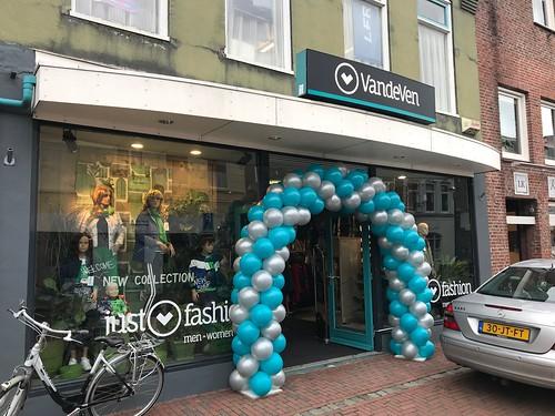 Ballonboog 6m Opening van de Ven Fashion Steenbergen