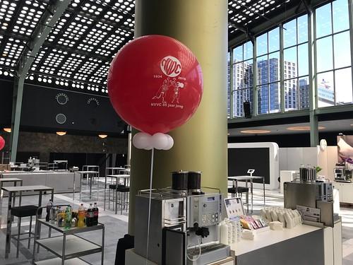 Cloudbuster Rond Bedrukt Postillion Convention Centre WTC Rotterdam