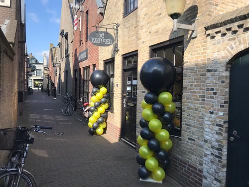 Ballonpilaar Breed Rond De Kapper Oud Beijerland