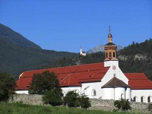 20110913 28 113 Jakobus Kloster Stams Kirche Turm