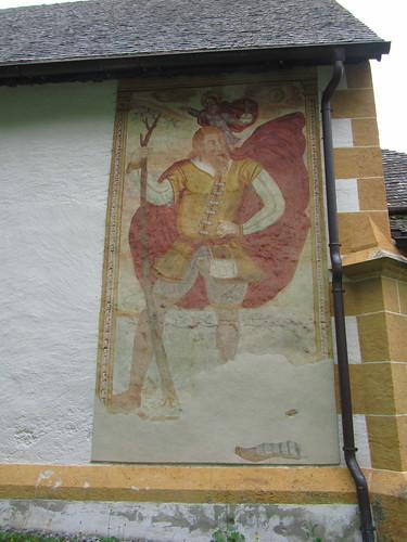 20110914 29 256 Jakobus Obsaurs Kirche Christopherus Bild