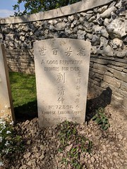Chinese Labourer's Grave