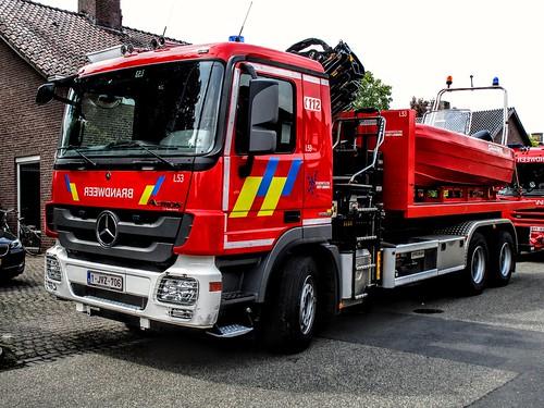 Brandweer {B} | Zone Oost-Limburg | Post Maaseik | Lima 53