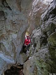 Faille de gauche de  la côte Chaude - Salins Les Bains - Jura (inedit)