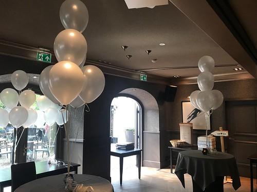 Tafeldecoratie 7ballonnen De Heeren van Montfoort