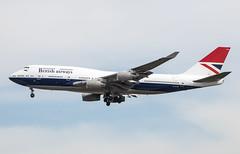 EGLL - Boeing 747 - British Airways - G-CIVB